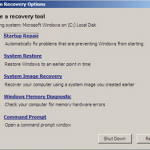 Difference Between System Restore and System Recovery