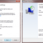 Difference Between System Restore