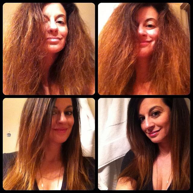 Natural Hair Smoothening