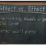 Difference Between Affect and Effect in English Grammar