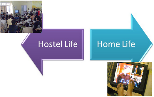 Difference Between Hostel Life and Home Life