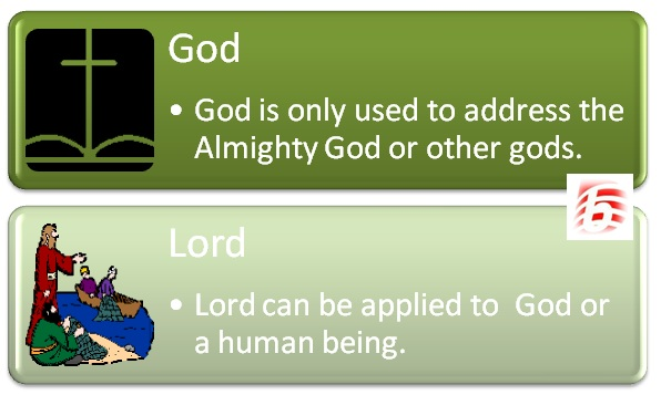 Difference Between God and Lord