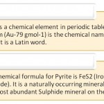 Difference Between Gold and Pyrite