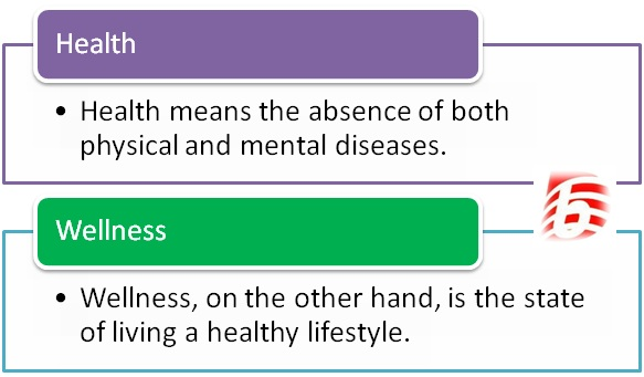 Difference Between Health and Wellness