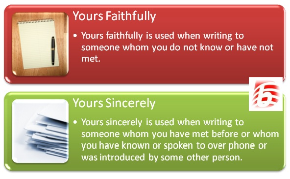Job Application Letter Yours Faithfully