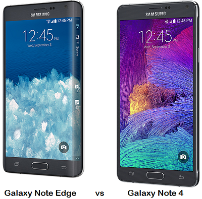 Difference Between Samsung Galaxy Note Edge and Galaxy Note 4
