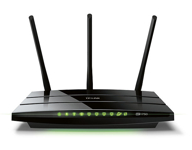 how to connect two pcs on same router