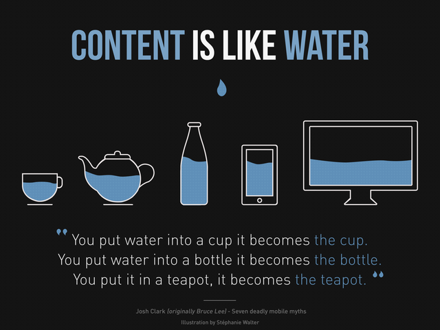 What is the difference between context and content?