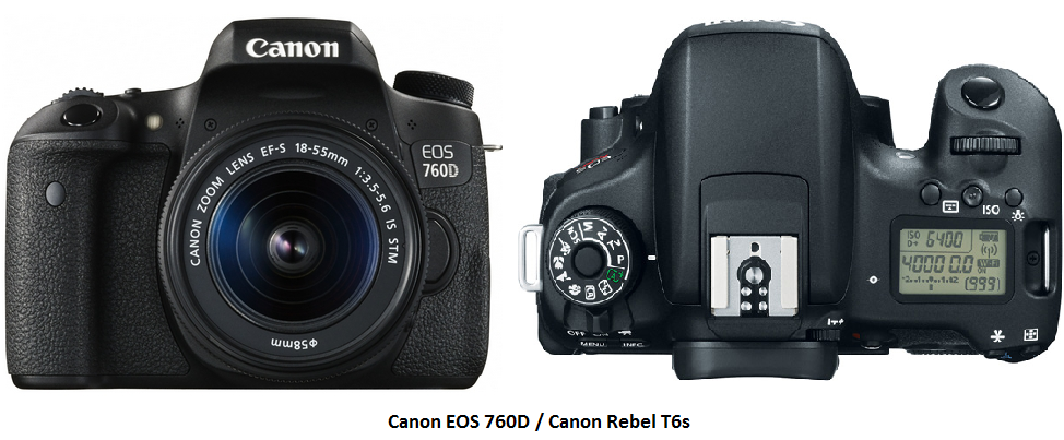 Canon 750D vs 760D - Key Differences