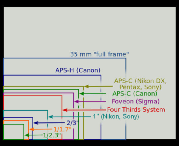 Full Frame vs APS-C_Difference Between Image Sensor Formats