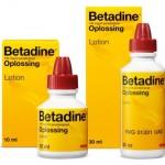Povidone Iodine vs Iodine