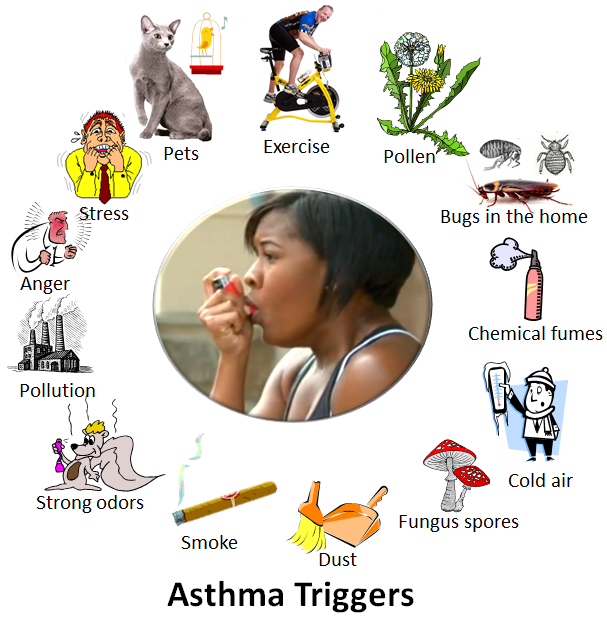 Difference Between asthma and wheezing