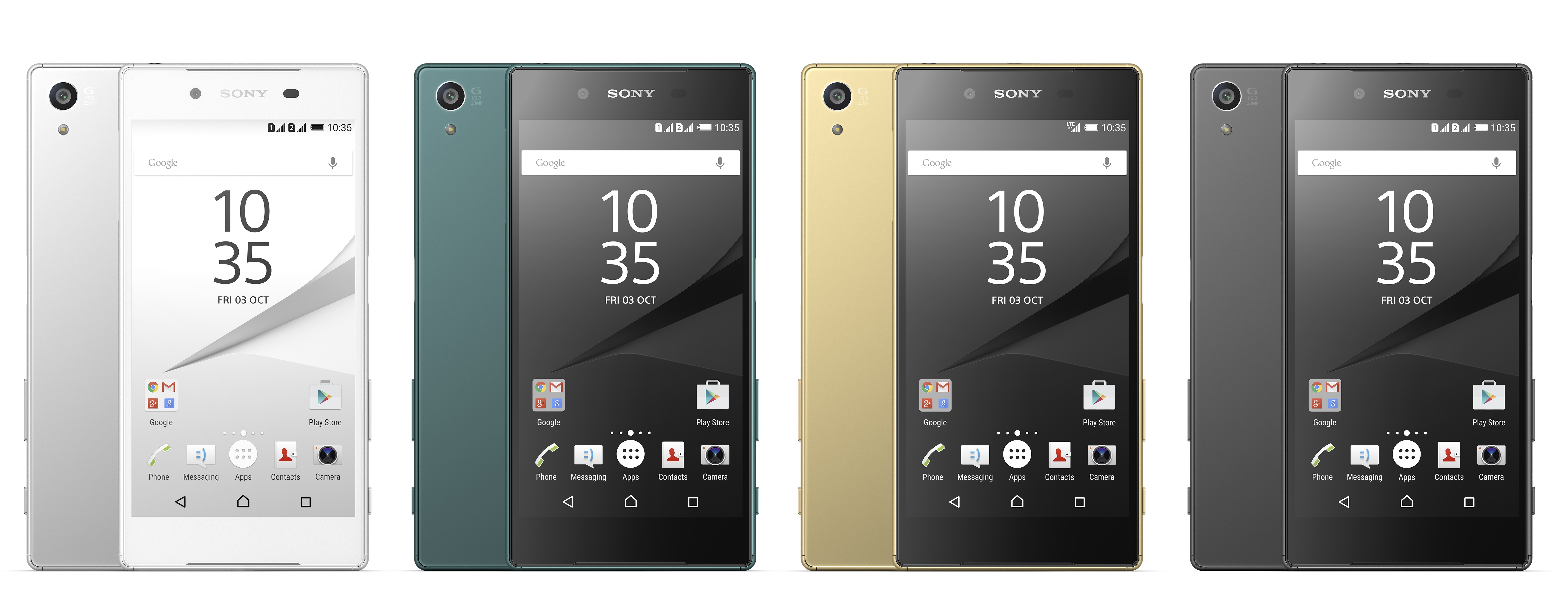 Difference between Sony Xperia Z5 vs iPhone 6S