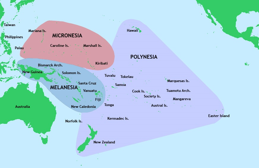 Map Howland Island Pacific Ocean