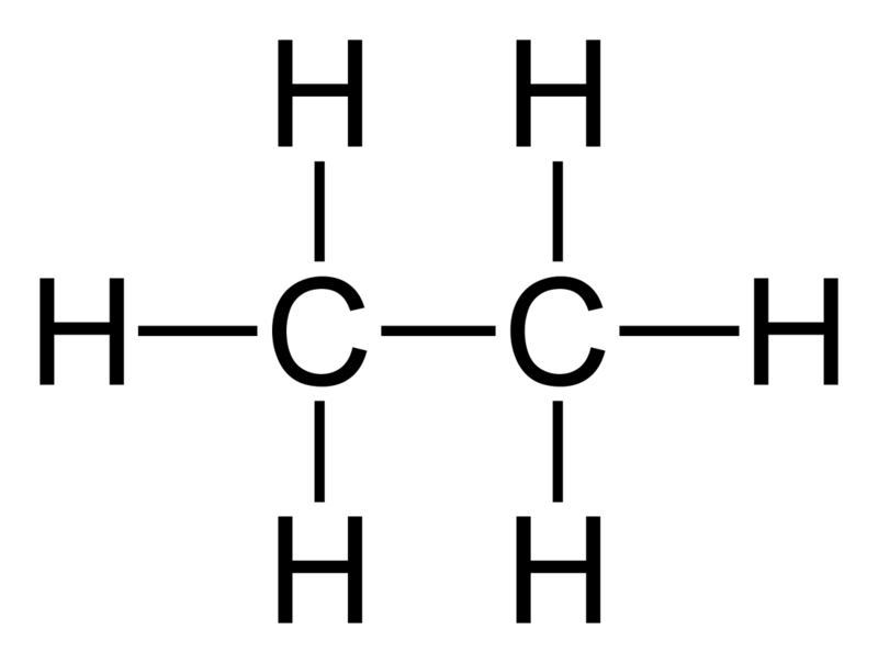 Ethane Structural Formula