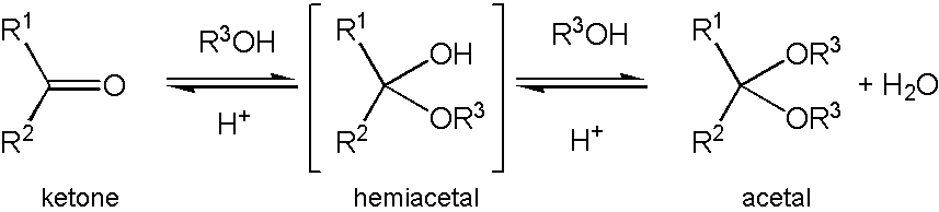 Difference Between Acetal and Hemiacetal - 3
