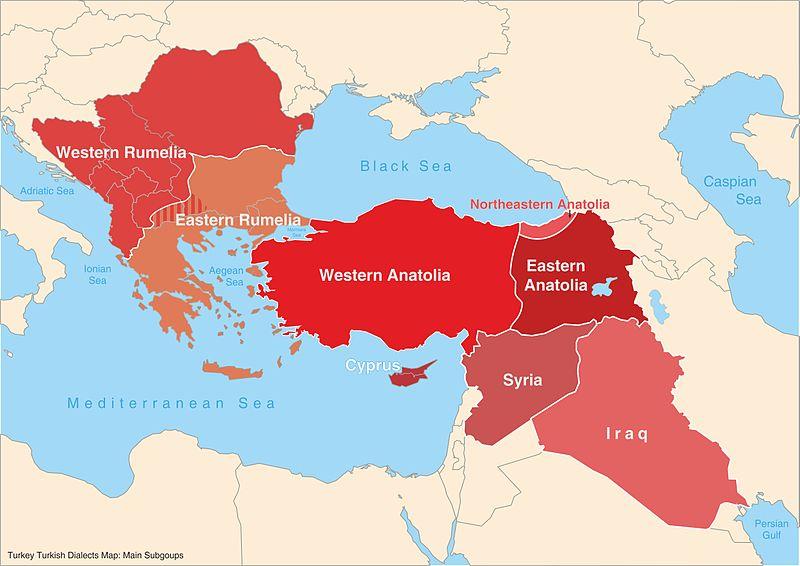 Key Difference - Kurdish vs Turkish