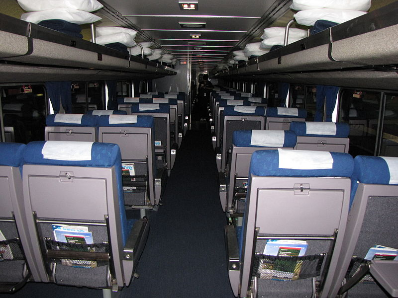 Key Difference - Amtrak Coach vs Business Class