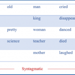 Difference Between Paradigm and Syntagm