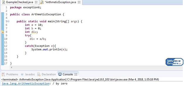 Difference Between Checked and Unchecked Exception in Java_Figure 02