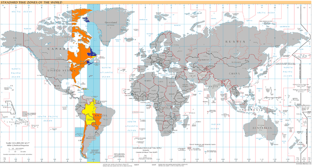 Time zone Est to gmt 7 Usa